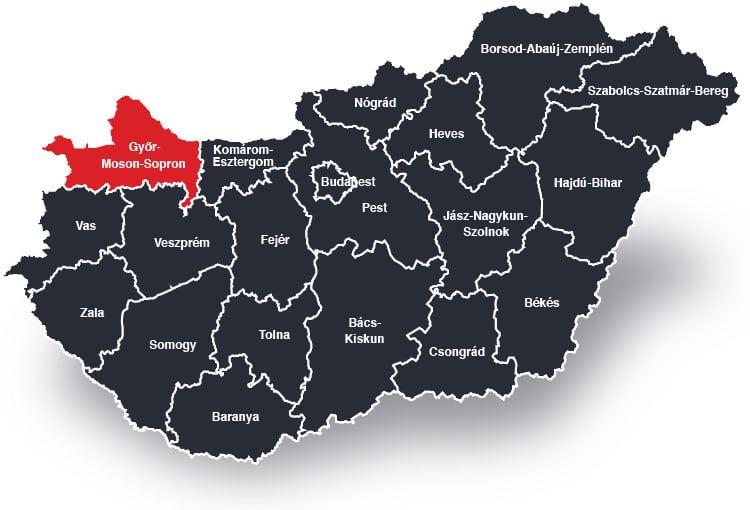 Győr és Győr-Moson-Sopron Megye – Biztonsági ajtó beépítéssel