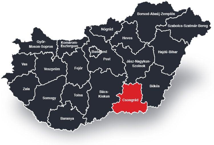 Szeged és Csongrád Megye – Biztonsági ajtó beépítéssel